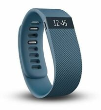 Genuine Fitbit Charge Sleep Monitor Yoga Walk Run Special Edition Blue Small New