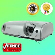 Epson PowerLite 76C 3LCD Projector Portable HD 1080i HDMI w/adapter (bundle)