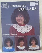 Crocheted Collars by American School of Needlework