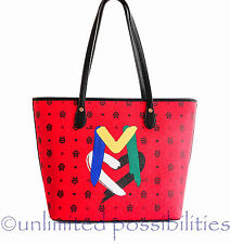 LOVE MOSCHINO JC4058 Tote Shoppers Shoulder Hand Bag Red Tag + Dustbag
