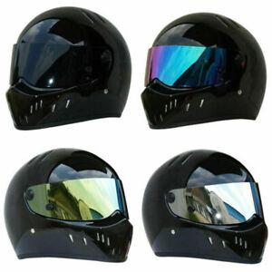 Gloss Black for Motorcycle Helmet Cruiser Racing Full Face Helmets PSB
