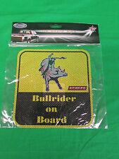 PBR Professional Bull Riders Bullrider on Board Decal