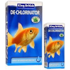 King British De-Chlorinator Safe Guard Aquarium Water Treatment Fish Tank