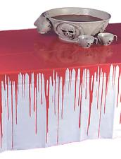 Halloween Terror Blood COVERED Mantel Paño Decoración Fiesta Broma