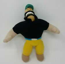 King Features Brutus Popeye Character 2000 Play-by-play Plush Doll *Stained Hat*