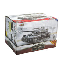 8Pcs 1/72 4D Assembly Simulated Plastic Military Heavy Tank Model Kids Toy Kit