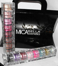 2x8 Mica Beauty  Eye Shadows Cotton CANDY & Itay Mineral Cosmetics Glitter