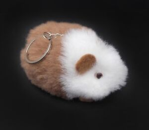Handmade Alpaca Keychain, Mini Peruvian Animal Keychain, Stuffed Animal Keychain
