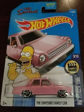 Hot wheels screen time Simpson's family car