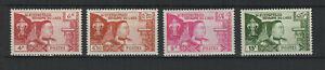 Royaume du Laos 1959 Y&TN°55 à 58 Patrie religion 4 timbres MNH /TR9183