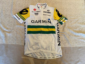 CASTELLI Cycling Jersey BRAND NEW GARMIN ORIGINAL SHORT SLEEVES SIZE XL Unisex