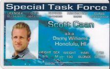 Hawaii Five-O Scott Caan / Danny Williams  Drivers License fun fake i.d. card