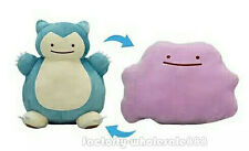 Cartoon Center Metamons Snorlax Transform Dittto Plush Doll Reversible Cushion