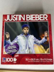 Justin Bieber 100 Piece Puzzle NIP