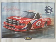 "Vintage Richard Petty ""PARKAY"" Store Display Advertising Poster 13.5""x20.5"" VHTF"
