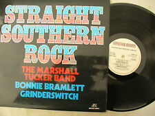 STRAIGHT SOUTHERN ROCK LP MARSHALL TUCKER BAND ETC NEAR MINT