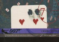James Bond Heroes & Villains The Quotable Theme Songs Expansion Card T11