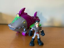 Transformers Rescue Bots lot - Dr. Morocco figure and Shark Sub vehicle