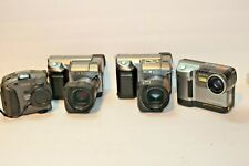 4 Sony Kodak Video Cameras Mavica MVC-FD91 DC260 FD88 Untested