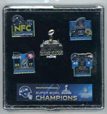 Seahawks Super Bowl XLVIII Champions 5 Pin Set Five Pins 48 Champs Seattle PSG