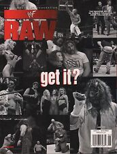 "WWF Raw Magazine June 1999 ""Get It?"" EX 121015DBE"