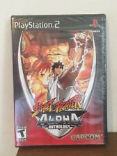 Street Fighter Alpha Anthology (Sony PlayStation 2, 2006) New Sealed
