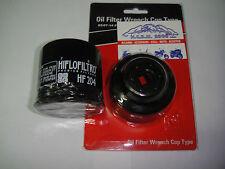 FILTRO OLIO HF204 +CHIAVE SMONTA FILTRO BZ5180 YAMAHA YZF-R6 TUTTI I MODELLI
