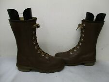 Ball Band Thermo-Ply Insulated Lace Rain Boots Mens Size 8