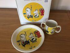 Moomin Arabia Mug & Plate Children's Set - new and boxed