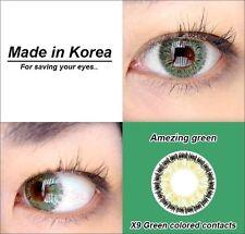 eye color contacts lenses Crazy Halloween Coloured circle makeup lens grey U6