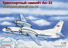 1/144 EASTERN EXPRESS 14498 TRANSPORT AIRCRAFT AN-32 UN and Aeroflot livery