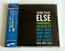 Cannonball Adderley Somethin' Else +1 Japan Cd 1988 Cj28-5051 w/Obi Miles Davis