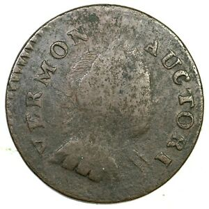 1788 RR-16 Vermont Colonial Copper Coin