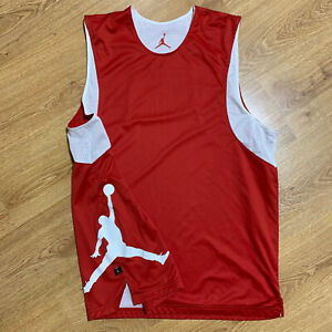 Air Jordan Jumpman Reversible Tank Top Sleeveless Basketball Shirt Size XL/L