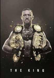 Conor McGregor The King Poster, Champ Champ, 27x39, Unsigned
