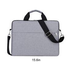 """13"""" 15.6"""" Laptop Handbag Sleeve Case Bag Shockproof Waterproof Durable Gray"""
