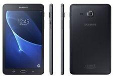 """Samsung Galaxy Tab A T285 7"""" Tablet Wi-Fi +4 G chiamata vocale nera modello 2016-NUOVO"""