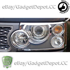For 2006 2007 2008 2009 Range Rover HSE Chrome Headlight Cover Non-Fit Sport