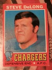 1971 Topps Steve DeLong San Diego Chargers #92 Football Card