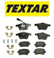 For Audi TT Quattro Set of Front & Rear Brake Pads TEXTAR