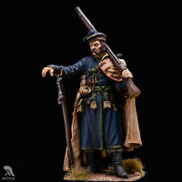 Ukrainian Registered Cossack of Polish Army 54mm Tin Painted Toy Soldier | Art