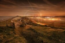 Landscape Photography Print. Mam Tor gate, Castleton, Peak District