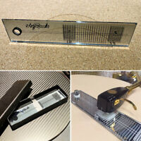 Turntable Phonograph Phono Cartridge Stylus Alignment Acrylic Protractor Tool