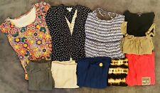 Women's Size L/XL/14 Clothes & Jewelry Lot Shirts Dresses Pants