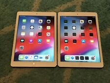 LOT of 2 Apple iPad Air 1st Gen 32GB 9.7in Factory Unlocked Silver & White