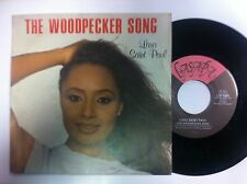 +VINILE 45 GIRI LARA SAINT PAUL THE WOODPECKER SONG=  nuovo d'epoca rimanenza