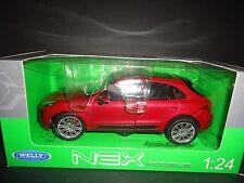 Welly Porsche Macan Turbo Red 1/24