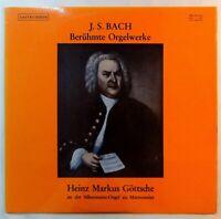 9695) LP - Bach - Berühmte Orgelwerke - Heinz Markus Göttsche - Sastruphon -