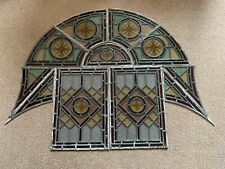 More details for early victorian stained glass window panels