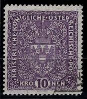 P126361/ AUSTRIA – MI # 207 II USED SIGNED RICHTER CV 155 $